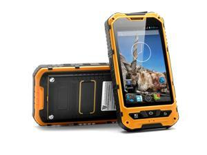 Markhor - 4 Inch Rugged Android Phone (Yellow, 1.3GHz Dual Core, 5MP Camera, Shockproof, Dust Proof, IP67 Waterproof)