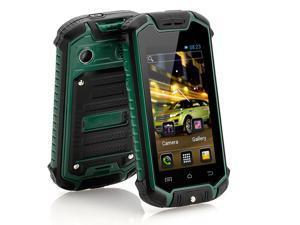 Nanex - 2.45 Inch Mini Android Phone (IP53 Water Resistant, Dual SIM, Green)