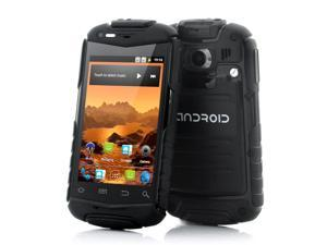 Titan-N1 - Rugged Android Phone with 3.5 Inch Screen (1GHz CPU, IP53 Water Resistant, Shockproof, Dust Proof, Black)