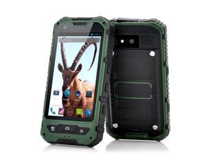 Ibex - 4 Inch Rugged Android Smartphone (Green, 1.3GHz Dual Core, Shockproof, Dust Proof, Waterproof)
