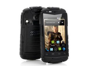 Titan - 3.5 Inch Rugged Android Phone (Water Resistant, Shockproof, Dustproof, Black)