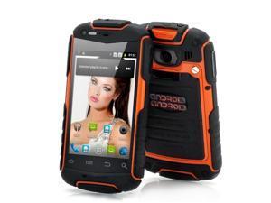 Enyo - 3.5 Inch Rugged Android Phone (Water Resistant, Shockproof, Dustproof, Orange)