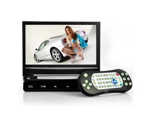 9 Inch LCD Car Headrest DVD Player with Intelligent Touch Button and FM Transmitter