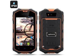 Uphone U5A 4 Inch Rugged Android Phone (Dual Core, IP68 Waterproof + Dust Proof, Shockproof, Orange)