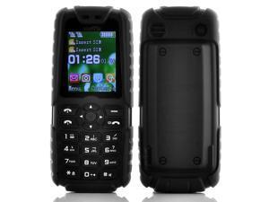 Xiaocai X6 Phone + Power Bank (5000mAh, Black)