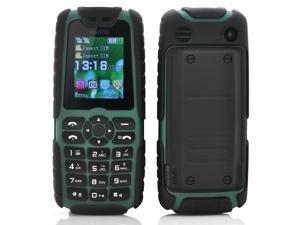 Xiaocai X6 Phone + Power Bank (5000mAh, Green)