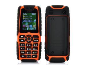 Xiaocai X6 Phone + Power Bank (5000mAh, Orange)