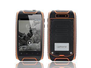 Uphone U5+ 3.5 Inch IP67 Waterproof Smartphone (1.3GHz Dual Core CPU, Dual SIM, Dust Proof, Shockproof, Orange)