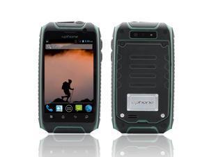 Uphone U5+ 3.5 Inch IP67 Waterproof Smartphone (1.3GHz Dual Core CPU, Dual SIM, Dust Proof, Shockproof, Green)