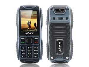 Uphone U3A Waterproof Rugged Phone (IP67, 2 Inch, Dual SIM, Rear Camera, Bluetooth, Black)
