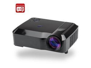 3800 Lumens HD LED Projector with 5.8 Inch LCD Panel (1280x768, 2000: 1, 170W, Black)