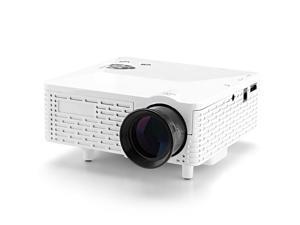 Mini LED Projector (60 Lumens, 400: 1, 1.67M Colors, 1920x1080, White)