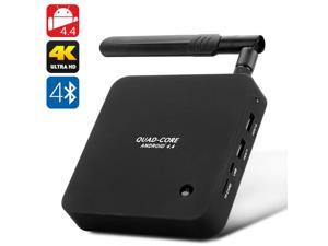 Quad Core 4K Android 4.4 TV Box (2GB RAM, 8GB, Miracast/DLNA)