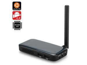 Ugoos UM3 TV Box with Android 4.4 and Ubuntu OS (RK3288 28nm 1.8GHz Quad Core CPU, 2GB RAM, 8GB)