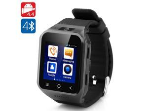 ZGPAX S8 Android 4.4 3G Watch Smartphone (1.54 Inch Touchscreen, Dual Core, 4GB ROM, 2MP Camera, Black)