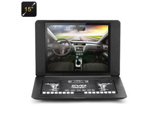 15 Inch TFT LED Portable DVD Player with Game and Copy Function