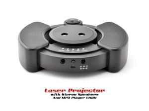 Cool Laser Stage Projector with Stereo 2GB Speakers and MP3 Player