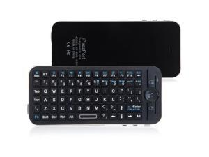 iPazzPort Mini Bluetooth Wireless Keyboard + Fly Air Mouse + Remote with Case for Apple TV Box