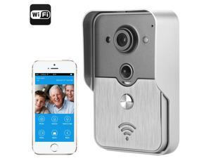 Night Vision Video Door Intercom System for iOS/Android (POE, PIR Motion Detection, 1/4 Inch COMS)