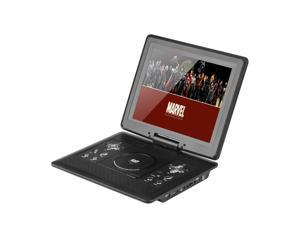 12.1 Inch Portable DVD Player with Game Controller (Remote, Car Charger, Swivel Screen, Antenna)