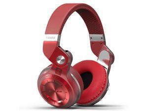 Bluedio T2S (Turbine 2 Shooting Brake) Wireless Bluetooth 4.1 Stereo On Ear Headphones - Red