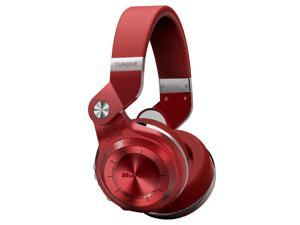 Bluedio T2S (Turbine 2 Shooting Brake) Wireless Bluetooth 4.1 Stereo On Ear Headphones w/ Gift Package (Red)