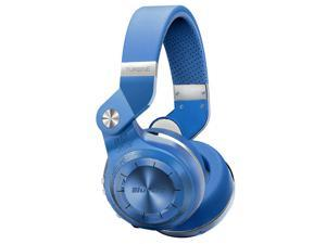 Bluedio T2S (Turbine 2 Shooting Brake) Wireless Bluetooth 4.1 stereo On Ear headphones w/ Gift Package (Blue)