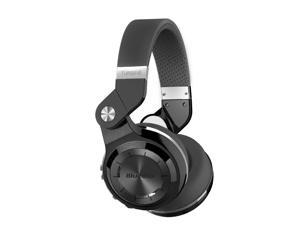 Bluedio T2S (Turbine 2 Shooting Brake) Wireless Bluetooth 4.1 stereo On Ear headphones w/ Gift Package (Black)