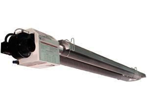 Serengeti-IR 40,000 BTU Residential Radiant Infrared Natural Gas Garage Heater, 5ft U System