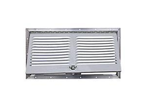 RV Motorhome Refrigerator Lower Side Access/Vent Door for Norcold Model 322, Polar White