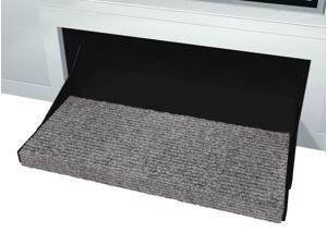 "Prest-O-Fit Step Rug Outrigger Castel Gray 23"" 2-0353"