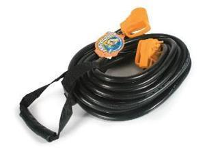 Camco Mfg Power Grip Extension Cord 30 Amp 50' 55197