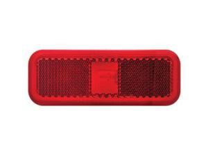 Optronics Red Lens For Rectangular Clearance Light A-44RBP
