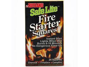 Fireplace Charcoal Grill BBQ and Campfire Fire Starter Squares