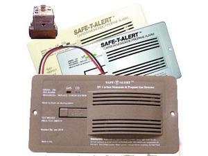 Safe-T-Alert CO & Propane Alarm w/ Solenoid, Brown 70-742-R-BR-KIT