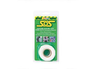 "INCOM SOS Silicone Tape, 1""X10', White RE6499"