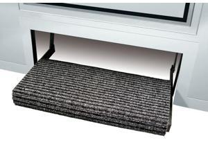 "Prest-O-Fit Ruggid Step Rug Black 23"" 2-0420"