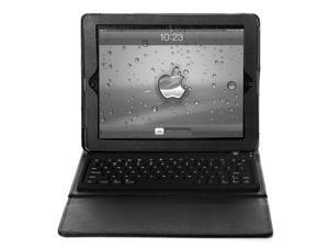 Lumsing Stand PU Leather Case Cover with Bluetooth Keyboard For iPad 2 3 4 (Black)