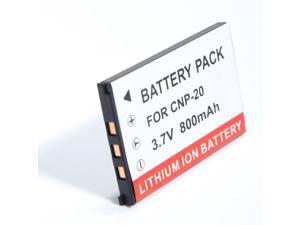 3.7V 800mAh Li-ion Battery for CASIO Exilim EX-Z60 EX-Z70 EX-Z75 EX-Z77 S770 S880