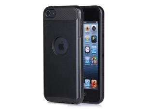 For iPod Touch 5th 6th Gen Hybrid Shockproof Hard&Soft Rubber Impact Case Cover