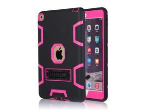 Shockproof Heavy Duty Rubber With Hard Stand Case Cover For New iPad Air 2
