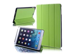 For iPad Air iPad 5 5th Four Fold PU Leather Smart Stand Case Cover Sleep Wake