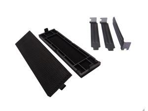 "Akust 5.25"" Mesh Panel Black 2Pack with PCI Slot Ventilation Bracket"