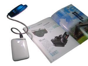Akust Portable USB UFO LED Lantern - Blue
