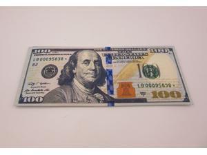5 PCS Creative 100 US Dollar Bill Money Bifold CANVAS Wallet Card Holder Gift