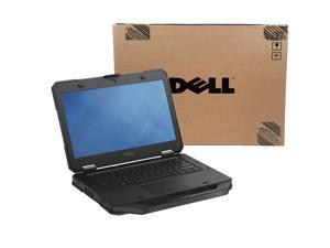 """Dell Latitude 14 Rugged 5404 i7 4650U 8GB 256GB SSD 14"""" HD Outdoor Readable Webcam 9 Pin Serial Port Win 7 Pro 64 Bit Finger Print Reader 6 Cell Battery Laptop"""
