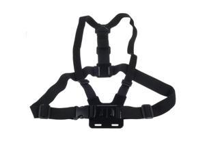 Gopro Chest Mount Harness Black Adjustment Elastic Body Chest Strap Belt For GoPro Hero3+ 3/2/1