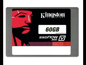 "Kingston SSDNow V300 Series SV300S37A/60G 2.5"" 60GB SATA III Internal Solid State Drive (SSD)"