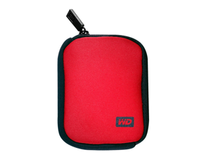WD WDBABK0000NRD-WRSN My Passport Carrying Case - Red