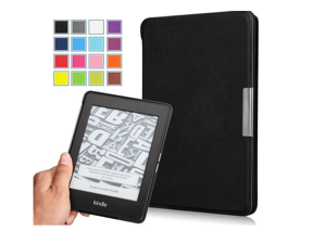 """Kindle Paperwhite Case - Ultra Lightweight Shell Case for Amazon All-New Kindle Paperwhite (Both 2012 and 2013 versions with 6"""" Display and Built-in Light), BLACK(Slim Shell Cover for Paperwhite)"""